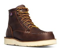 "Danner Men's Bull Run Moc Toe 6"" Steel Toe Work Boot"