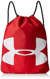 Under Armour Ozsee Sackpack, Red /White, One Size