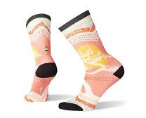 Smartwool Curated Graphic Crew Socks - Women?s Bonsai Merino Wool Socks with Ultra Light Cushioning