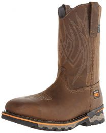 Timberland PRO Men's AG Boss Pull-On Alloy Square-Toe Work and Hunt Boot
