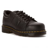 Dr. Martens Women's Mila Steel Toe 6 Eye Work Oxfords
