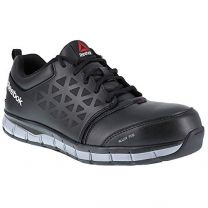 Reebok Work Mens Sublite Cushion Work Work/Duty Oxford Black