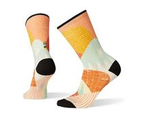 Smartwool Curated Graphic Crew Socks - Women?s Zen Hillside Merino Wool Socks with Ultra Light Cushioning