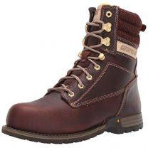 """Caterpillar Women's Clover 8"""" Steel Toe Industrial Boot"""