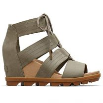 Sorel - Women's Joanie II Lace, Leather or Suede Sandal with Wedge Heel