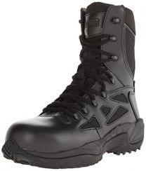 "Reebok Men's Stealth 8"" Lace-Up Side-Zip Work Boot Composite Toe - Rb8874"