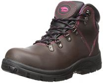 "FSI Avenger Women's 6"" Framer Steel Waterproof Leather Slip Resistant Safety Toe EH Hiker Work Boot"