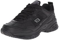 Skechers for Work Men's Soft Stride Mavin Slip Resistant Athletic Oxford