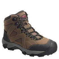Avenger 7710 Men's Crosscut All Leather Waterproof PR Work Boot - Steel Toe Brown