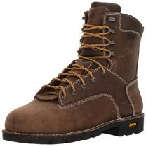 "Danner Men's Gritstone 8"" Brown AT Work Boot"